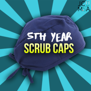 Fifth Year Scrub Caps